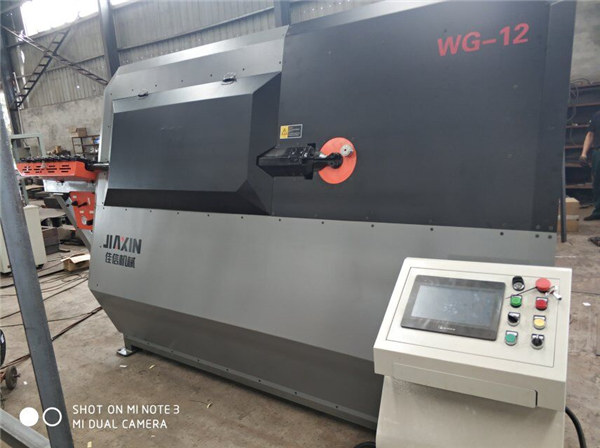 4-12mm hydraulic automatic cnc 2D wire bending machine supplier